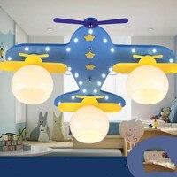 Aircraft LED lamps Ceiling Lamp Living Room Bedroom Lamp Kindergarten Amusement Park Shop Boy Children Room wl3291740