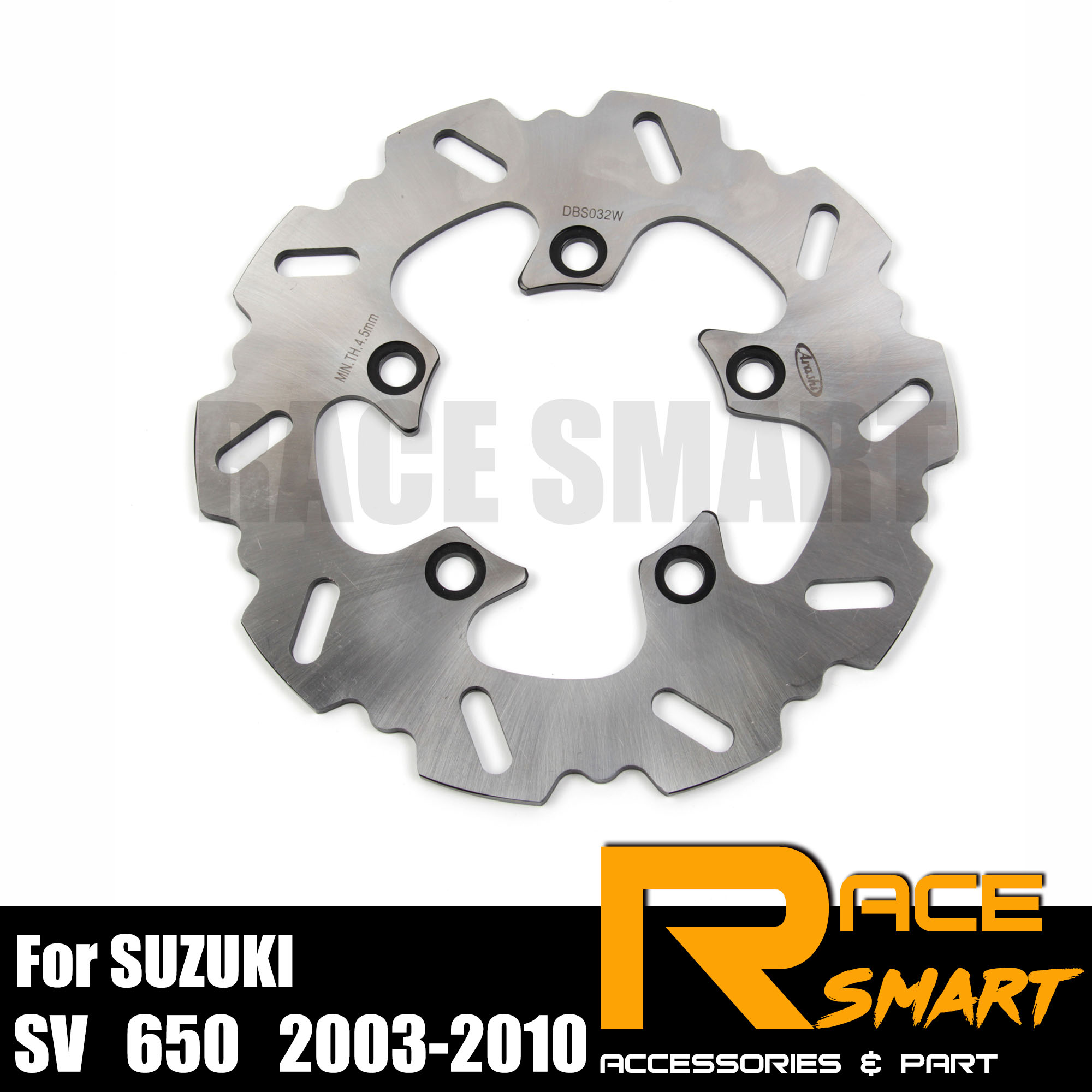 Motorcycle Rear Brake Discs For SUZUKI SV 650 2003 2010 Brake Disks Rotors SV S 650 2003 2009 SV650 SVS650 SV S650 2007 2008