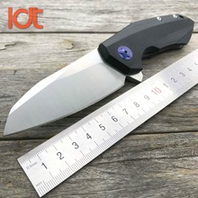 LDT 0456 Tactical Folding Knife CTS 204P Blade G10 Handle Ball Bearing Flipper Hunting Camping EDC Tools Survival Knife OEM