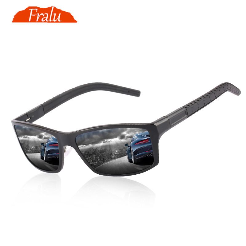 4161a4358f Detail Feedback Questions about FRALU Brand Classic Polarized Sunglasses  Men Driving Glasses Coating Black Fishing Driving Eyewear Male Sun Glasses  YJ1173 ...