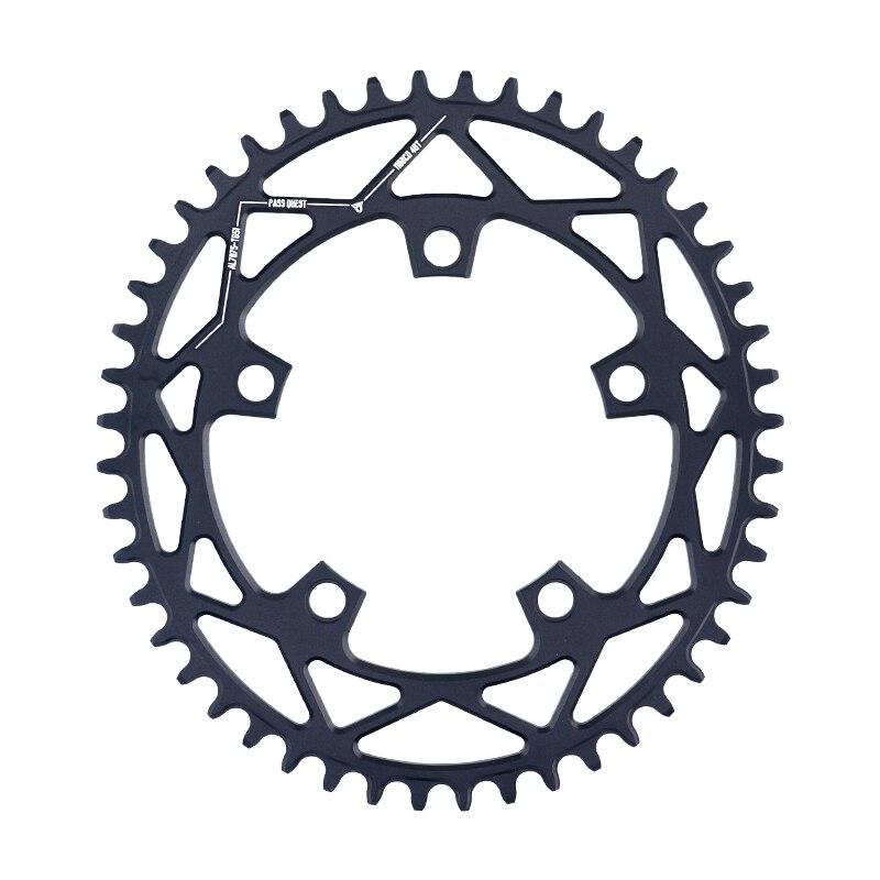 PASS QUEST 110BCD ovale vélo de route plateau étroit large roue à chaîne 42 T-52 T pour 3550 APEX rouge