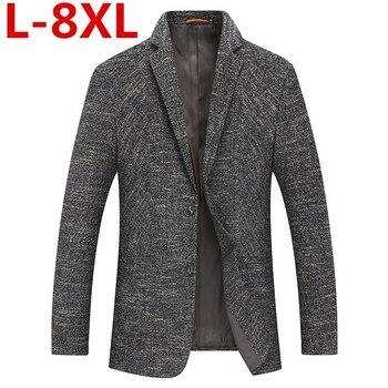 plus8XL 7XL 6XL 5XL  New Arrival Brand Clothing Jacket spring Suit Jacket Men Blazer Fashion Slim Male Suits Casual Blazers Men