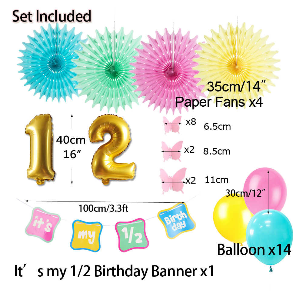 Detail Feedback Questions About Half Birthday Party Decoration Its