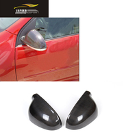 Carbon Side Mirror Covers Review Caps Car Styling For VW Golf V MK5 GTI 2006 2009