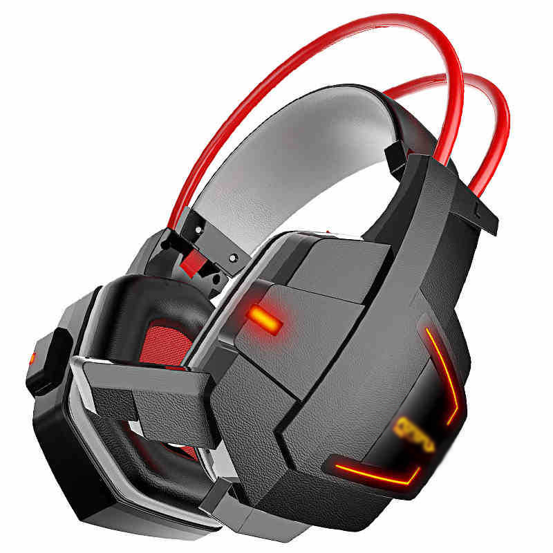 HG4 Gaming Headset Gamer Luminous Earphones Stereo Bass With Microphone Wired Over-ear Headphones For Computer 3 5mm universal gaming over ear headset earphones computer game headphones with microphone for gamer stereo bass for computer pc