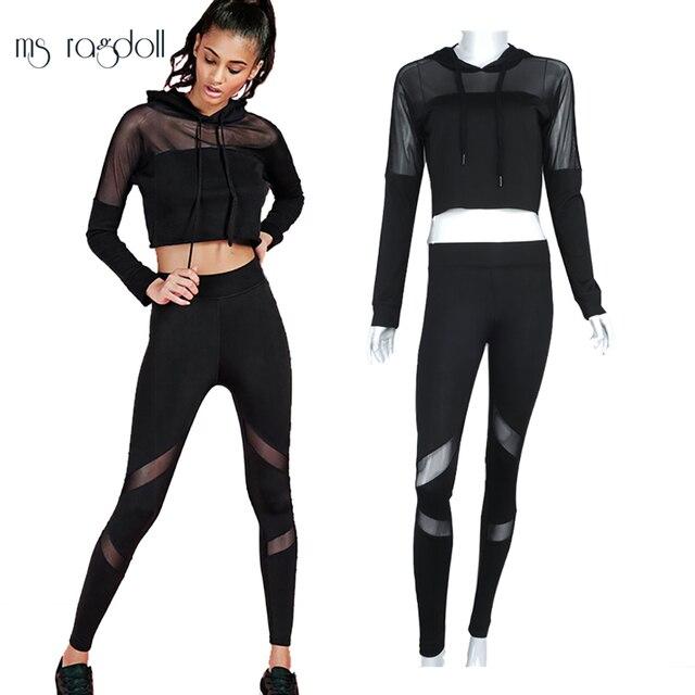 43b738688d Sport Tracksuit For Women 2 Piece Set Sportswear For Women Women Hoodies+Long  Pants Yoga Set Fitness Suit Sport Suit Women