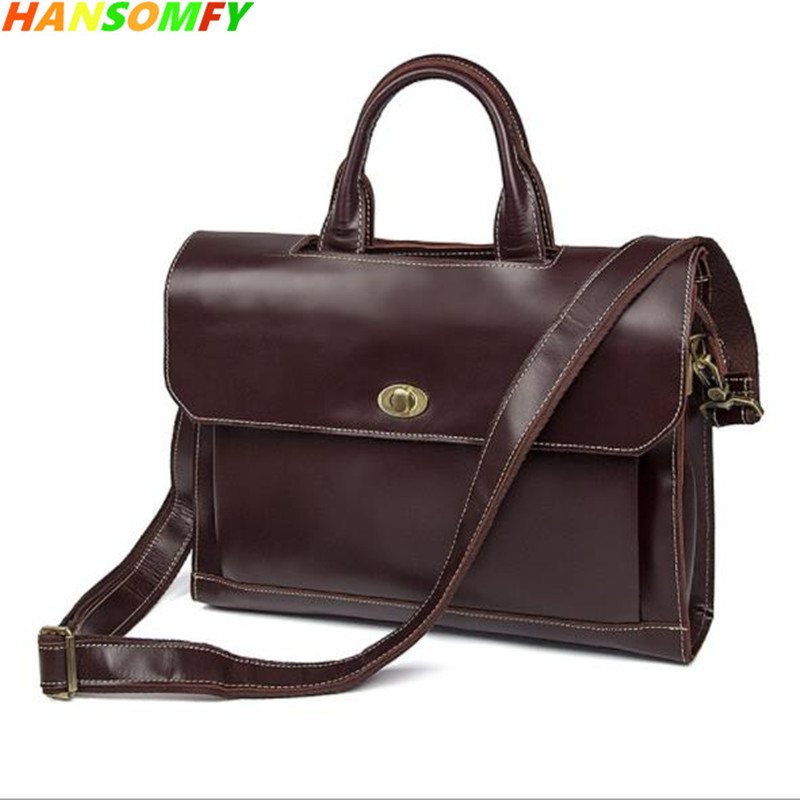 100% First Layer Cowhide Genuine Leather 15