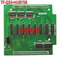 TF TF-QS5 + HUB75B USB + Lan порт RGB СВЕТОДИОДНЫЙ экран контроллера 320*128 полноцветный асинхронный ПРИВЕЛО плату управления карты