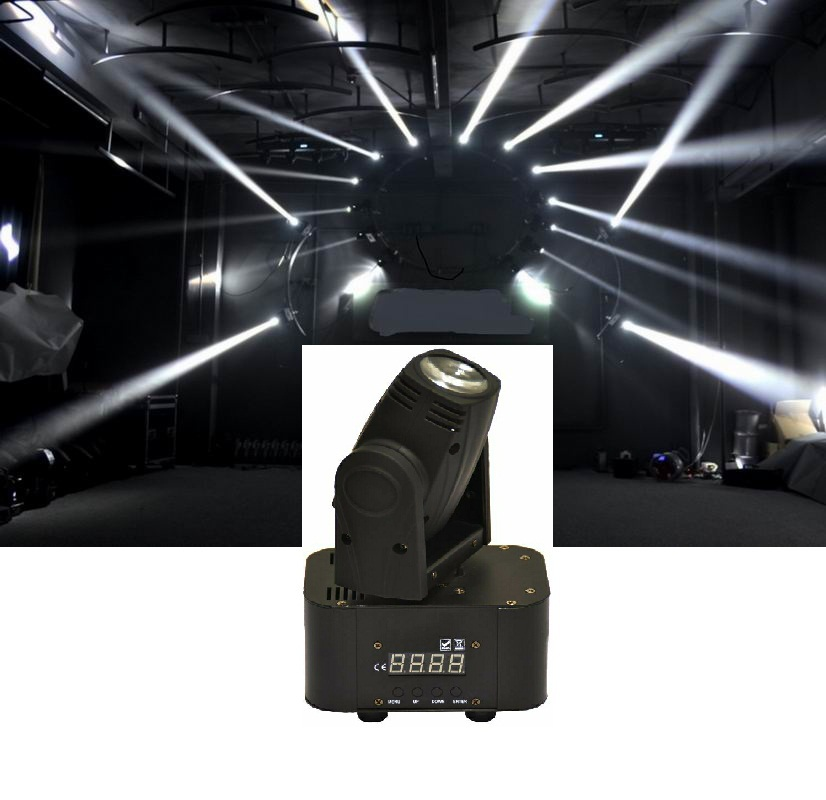 DHL Free Shipping Hot Sale 4x10W 4in1 LED Mini Moving Head Beam Light Ultra Bright Stage Lamp DMX DJ Show Projector Party Lights rs 4 in 1 4 in 1 toner cartridge chip resetter for samsung free shipping by dhl