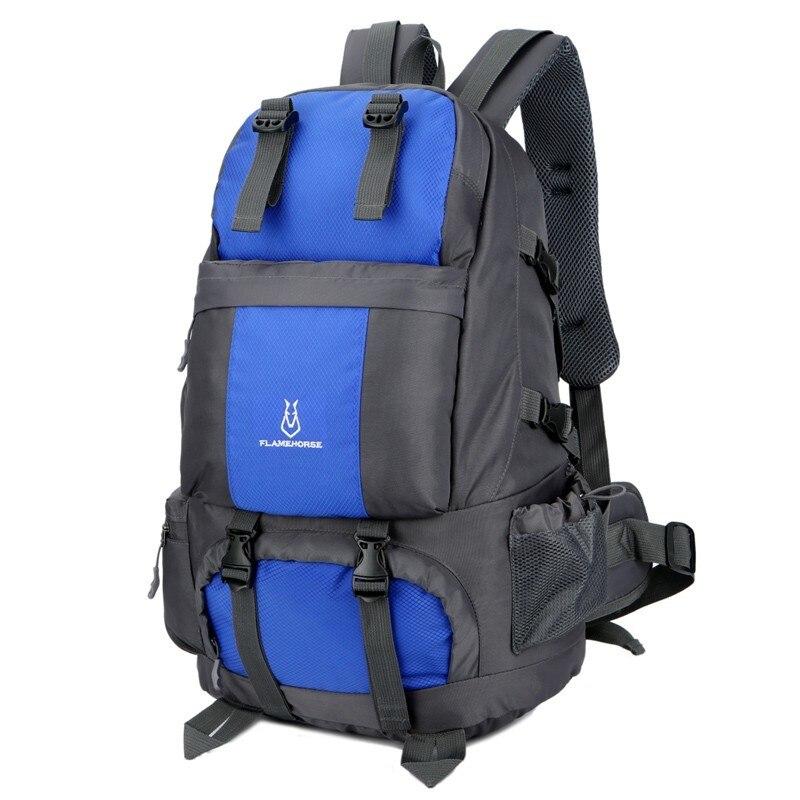 50l capacidade de trekking mochila viagem masculino & feminino esporte ao ar livre mochilas acampamento durável à prova chuva escalada sacos caminhadas 8 cor