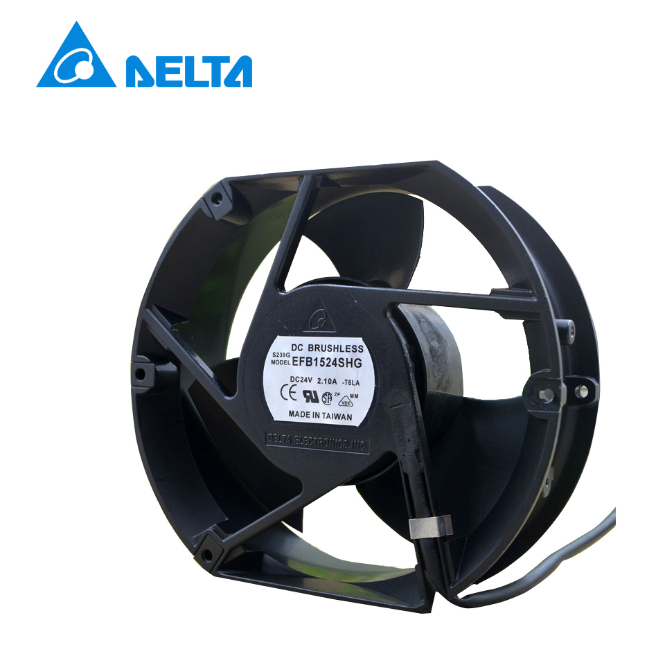 Delta New EFB1524SHG 17CM 17251 24V 2.10A 3-wire fan ACS510/550 for freeshipping a2175hbt ac fan 171x151x5 mm 17cm 17251 230vac 50 60hz