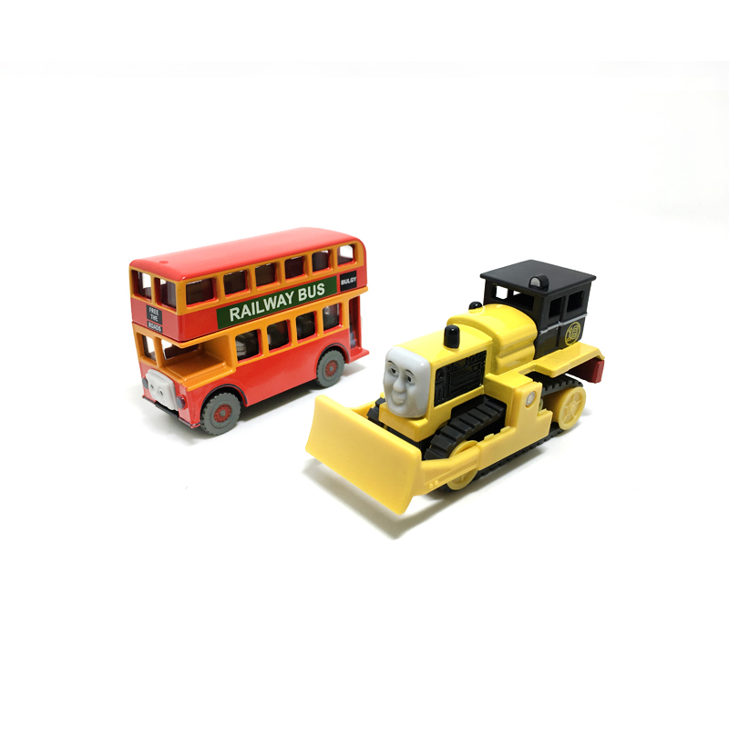 T0161 Diecast Magnetic THOMAS and friend Bulgy and ByronThe Tank Engine take along train metal children kids toy gift