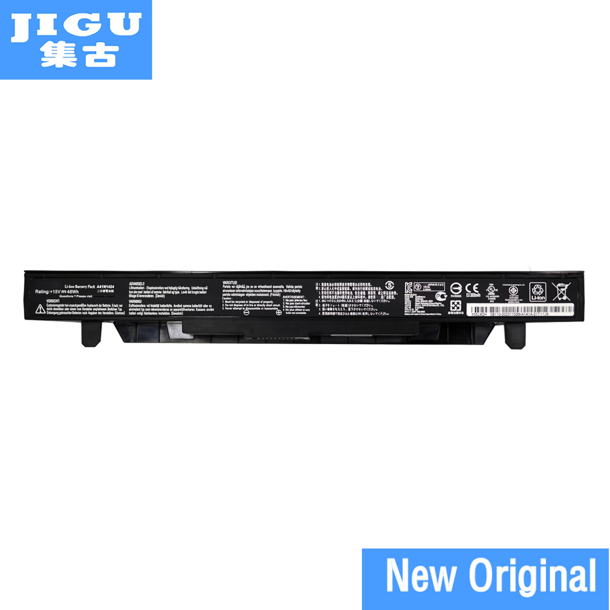 все цены на JIGU Original Laptop battery A41N1424 for Asus G552VX GL552 GL552J GL552JX GL552V GL552VW ZX50 ZX50J ZX50V