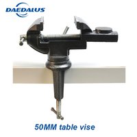 Mini tbale vise Aluminium Alloy 50MM bench vise Small Jewelers Hobby Clamp bench vise On Table Bench Vise Mini Tool Vice