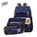 Angel Voices 2017 Girls Backpacks Printing Bookbag Women Backpack With Bear School Bags For Teenagers Cute Backpack