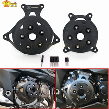 Motorcycle Engine Stator Cover Engine Guard Protection Side Shield Protector For Kawasaki Z750 Z800 2013 - 2017 Z 750 800 13-17 стоимость