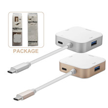USB-C Type-C female USB Female Data Charger to HDMI/USB Multiport Adapter USB-C Hub for New Macbook Laptop