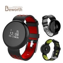 I8 Gelang Pintar IP68 Tekanan Darah Kalis Air Kadar Tekanan Memantau Fitness Band Sukan Wristband Smartband Pedometer Watch