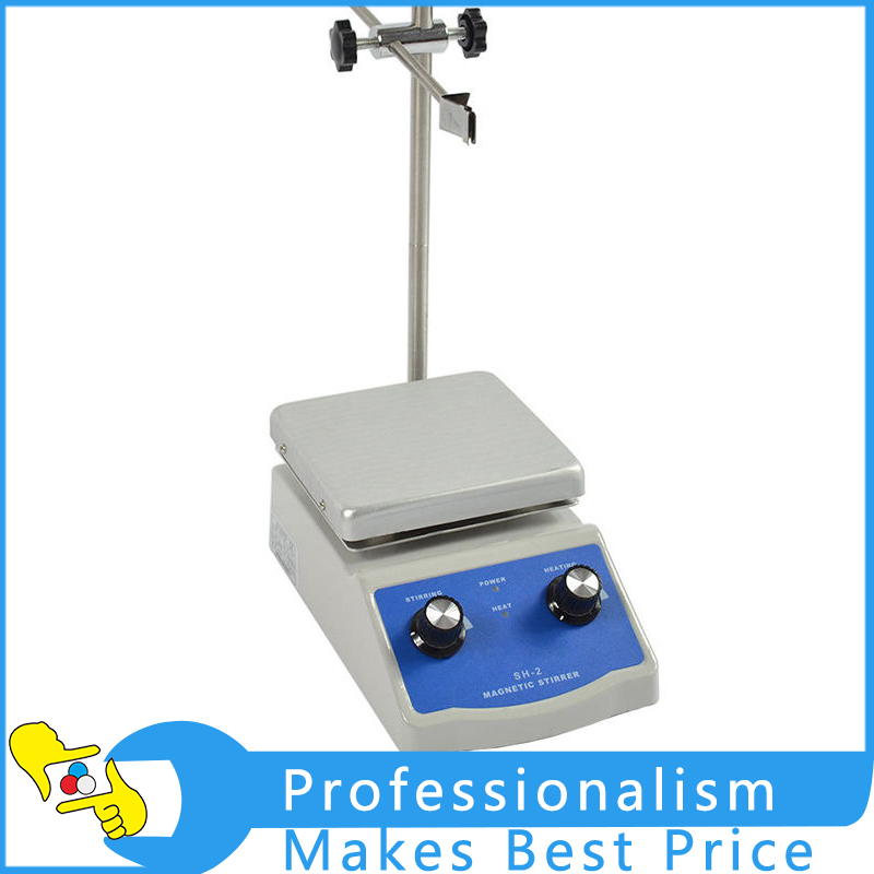 SH-2 Digital Lab Thermostatic Hot Plate Magnetic Stirrer Mixer 220V digital shear emulsification lab mixer lr 10 mixer disperser emulsifying machine 10kg capacity 220v or 110v