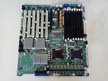 Used Applies to for Supermicro X7DBE-X 5000P chip DDR2 6*PCI-X slot Medical device non-editing server motherboard