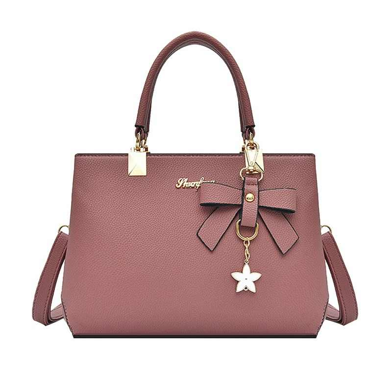 2018 Women Elegant Shoulder bag Handbags Designer Luxury brand Bow Sweet Messenger Crossbody Bags bolsos mujer ladies hand Bag