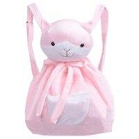 Hot Anime Danganronpa Dangan Ronpa Nanami Chiaki Pink Cat Backpack Halloween Carnival Cosplay