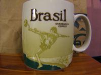 16oz Ceramic Coffee Mug Global Idol City Brazil Collector Series Mugs Gift Bone China Cup