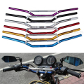 Universal 22mm Average Diameter Motorcycle Handlebar Handle bar For Honda Yamaha Kawasaki Suzuki