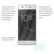 2PCS For Glass Sony Xperia XA1 Plus Screen Protector Tempered Glass for Sony Xperia XA1 Plus G3412 G3421 G3423 G3416 Phone Film смартфон sony xperia xa1 plus dual 32gb g3412 blue