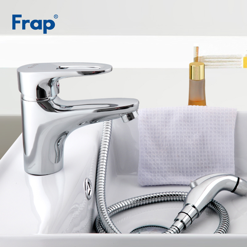 Frap New Basin Faucets Brass Body Material Bathroom Toilet Taps Polished Crane With Bidet Faucet Accessories