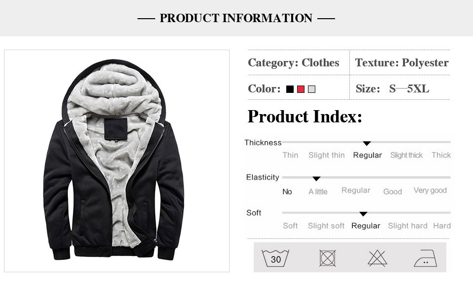 HTB1OIZUXrH1gK0jSZFwq6A7aXXaA LBL Winter Mens Fleece Jacket Thick Solid Bomber Jackets Men Slim Fit Hooded Coat Man Autumn Warm Tracksuit New Men's Sportswear
