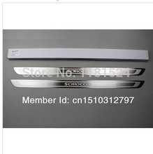 Door Sill Scuff Plate For VW Scirocco RTDI MK3 2009 2012 Car font b styling b