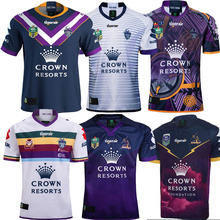 aa699f21c12 2018 2019 NEW TOP NRL Melbourne Storms rugby jerseys home away Melbourne  rugby shirt size S