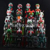 High Quality 16PCS Pack Kamen Rider Drive Msken Rider Drive 8cm PVC Action Figure Model Toys