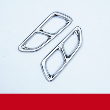 lsrtw2017 stainless steel car exhaust pipe decoration trims for honda accord 2013 2014 2015 2016 2017 9th