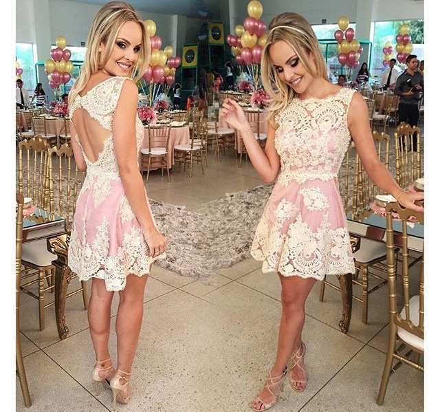 New Arrival Vestidos 2015 Brand Summer Casual Lace Patchwork Women