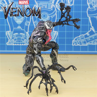 Marvel Venom 27cm Action Figure KO's PLAY ARTS PA KAI 12 Model Hot Toys Super Hero Spiderman Legends 2018 Movie Tom Hardy Loose
