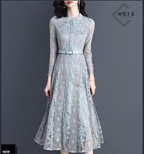 MIDI גברת חדשה שמלה