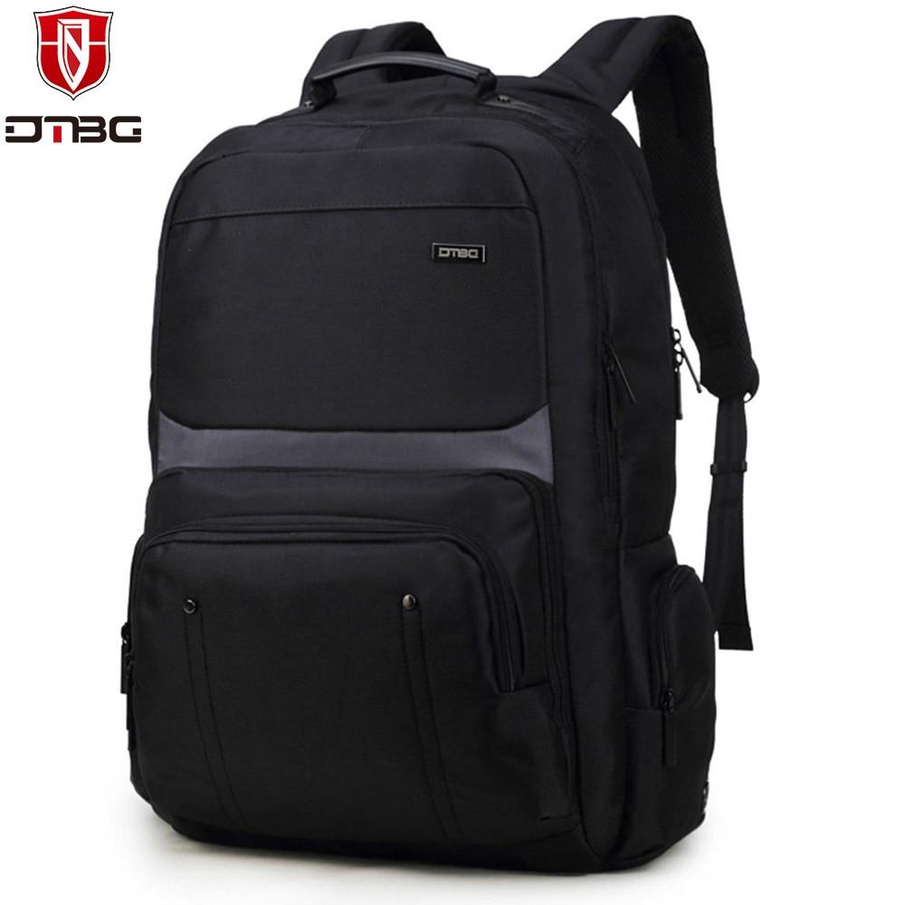 DTBG Nylon Backpack for 17.3 Inch Laptop Waterproof School Backpacks Rucksacks for Teenage Boys Mochila Male dtbg laptop backpack for men women s 15 15 6 inch backpacks for apple mackbook waterproof nylon school travel bags notebook bag