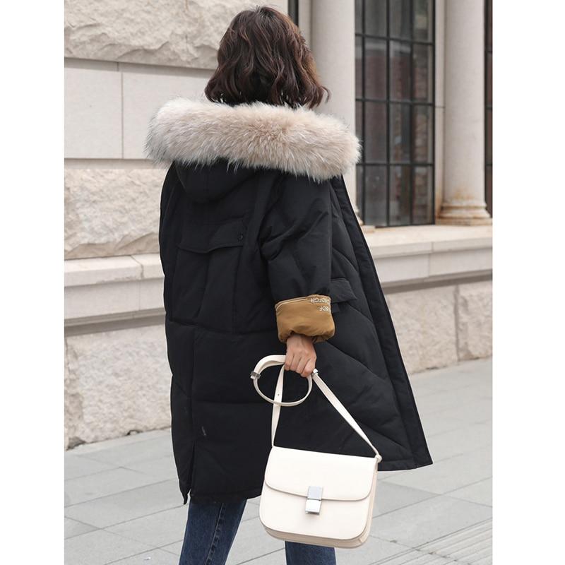 Coton or Long La Plus D'hiver Veste Manteau Femmes Parka kaki Taille À Vestes En Capuchon 2018 Ym1063 Chaud Rembourré Survêtement Noir v044qHX
