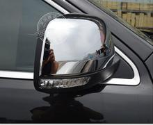 ABS chrome side mirror rearview mirror frame trim cover exterior mouding Car Accessories for jeep grand cherokee SRT 2014 2015