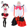 Custom Hot Japanese Anime Love Live Cosplay Nico Yazawa School Idol Project Dress Costumes