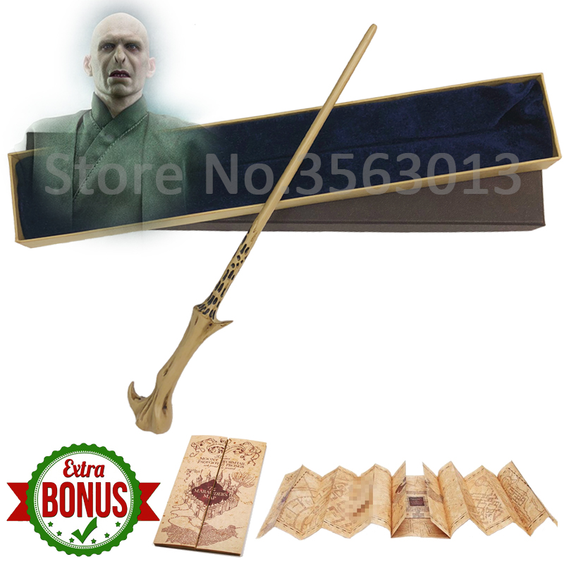 Image 3 - Original Version Quality Metal Core Deluxe COS Dumbledore Magic Wand of Magical Stick with Gift Box pack of Hp-in Magic Tricks from Toys & Hobbies