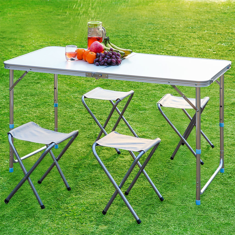 Hot outdoor folding table camping aluminium portable multi for Table camping