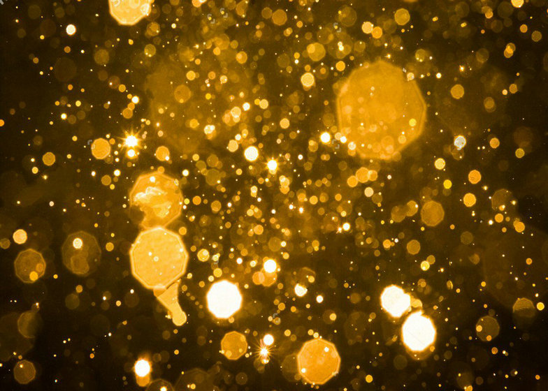 Bokeh Wallpapers High Quality: Dark Glitter Gold Sparkly Bokeh Backgrounds Vinyl Cloth