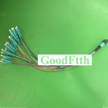Patch Cord Jumper Cable MPO-LC Multimode OM3 24 cores fibers GoodFtth 1-3m цена и фото