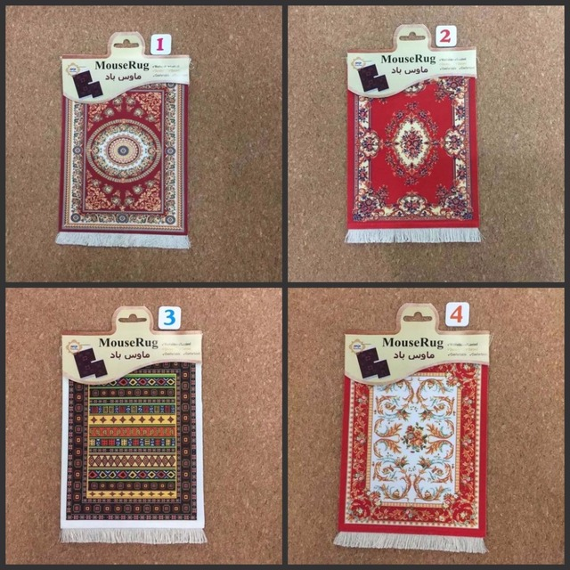 Mairuige 270 180mm Persian Carpet Style Rug Large Mouse Pad Mat Office Family