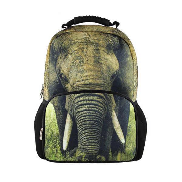Рюкзаки для мальчиков-подростков, белый рюкзак с принтом тигра, мужские дорожные сумки на плечо, модный школьный рюкзачок для ноутбука