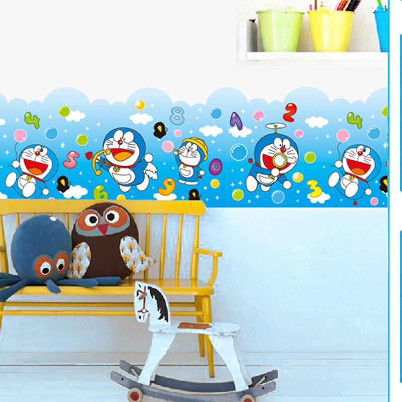 Viking Cartoon Doraemon A Dream Bedroom Nursery Wall Stickers