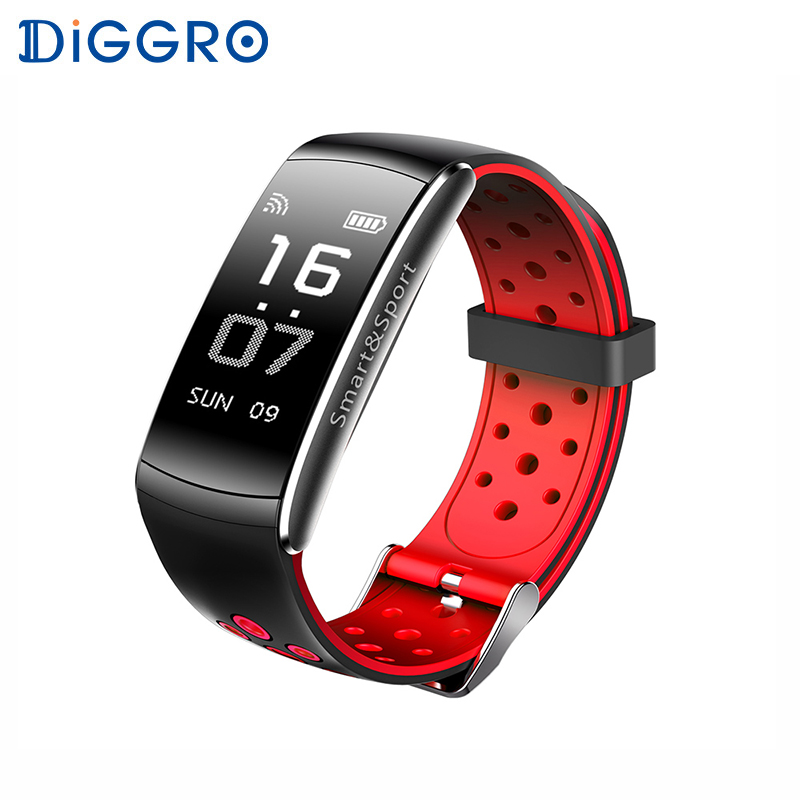 Watches Well-Educated Qw18 Smart Wristband Ip68 Swimming Waterproof Blood Pressure Blood Oxygen Heart Rate Monitor Pedometer Reminder Smart Bracelet